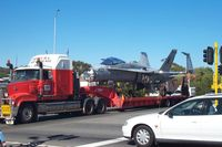 164635 - Seen in Perth Au 2003 on the road heading back to the carrier - by Stuart