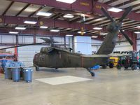 81-23582 @ SLN - Parked in the hanger - by Helicopterfriend