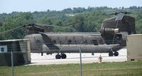 88-00087 @ FRI - Inside the flight line area. Information states remanufactured from CH-47B, 67-184743 s/n B.443 - by Helicopterfriend