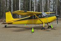 N1755C @ PAUO - Cessna 180