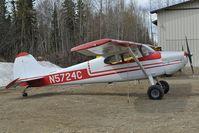 N5724C @ PAUO - Cessna 170