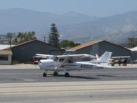 N10033 @ SZP - 2005 Cessna 172S SKYHAWK SP, Lycoming IO-360-L2A 180 Hp, landing roll Rwy 22 - by Doug Robertson