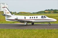 D-IEIR @ ELLX - Cessna 501 Citation - by Jerzy Maciaszek