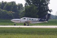 N2611X @ KOWB - Cessna 402C