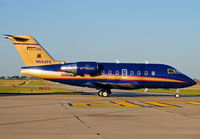 N604PA @ KDEC - Prime Inc's Palace Casino Resort jet on the move at Decatur, Illinois (KDEC). - by Doug Wolfe