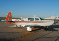 N201VH @ KDEC - Return visit to Decatur, Illinois.  4-Seater. - by Doug Wolfe