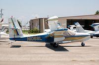 N1066L @ BOW - 1975 Lake LA-4-200 N1066L at Bartow Municipal Airport, Bartow, FL - by scotch-canadian