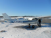 C-FSMO @ CYND - Just before a nice flight over Gatineau - by Alain Farley
