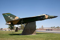 67-0100 @ LSV - USAF General Dynamics F-111A Aardvark 67-0100 on display at Freedom Park, Nellis AFB. - by Dean Heald