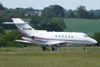 CS-DRF @ EGGW - NetJets Transportes Aereos - by Chris Hall