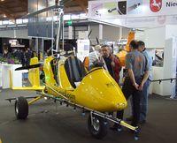 D-MTGY @ EDNY - AutoGyro MTOSport with spraying gear at the AERO 2012, Friedrichshafen - by Ingo Warnecke