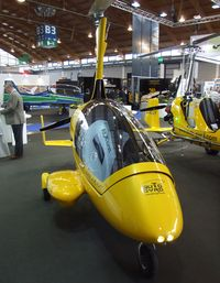 D-MCUS @ EDNY - AutoGyro Calidus at the AERO 2012, Friedrichshafen - by Ingo Warnecke