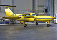D-IHLB @ EDDG - Parked in Hangar at Muenster-Osnabrueck Airport. - by Wilfried_Broemmelmeyer