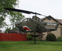 70-16043 - This helicopter is on permanent display at the American Legion Post, No. 328, Clark, NJ, in honor of those who served the US. - by Daniel L. Berek