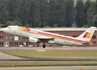 EC-ILQ @ EBBR - Take off from Brussel Airport - by Willem Göebel