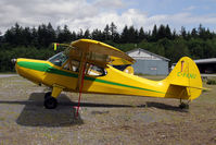 C-FKNU @ CYSE - A fine old Aeronca parked out in the elements of British Columbia - by Duncan Kirk