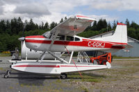 C-GGKJ @ CYSE - Cessna 185's make popular float planes - by Duncan Kirk