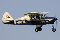 G-BUVA @ EGHA - Privately owned. - by Howard J Curtis