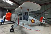 G-BVXJ @ EGBR - at Breighton Aerodrome, North Yorkshire - by Chris Hall