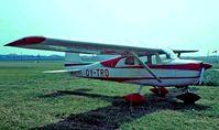 OY-TRD @ EKAH - Cessna 150D [150-59790] Aarhus~OY 06/06/1982. Taken from a slide.