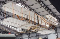 BAPC028 @ X4EV - 1903 Wright Flyer replica at the Yorkshire Air Museum - by Chris Hall
