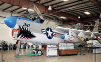 154550 @ KVAY - This beautifully restored Navy warbird is on display at the Air Victory Museum. - by Daniel L. Berek