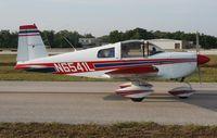 N6541L @ LAL - Grumman AA-1B