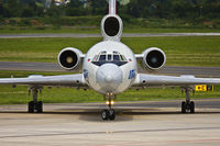 RA-85057 @ GRZ - Front view taxiing.
