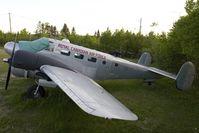 CF-VPK @ CYQX - RCAF Beech18 - by Andy Graf-VAP