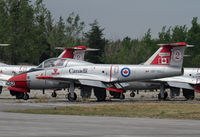 114062 @ CYBN - One of many trainers at CFB Borden - by Duncan Kirk