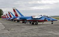 E85 @ EBFS - Patrouille de France