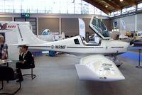 D-MRMF @ EDNY - Fläming Air FA-04 Peregrine SL at the AERO 2012, Friedrichshafen - by Ingo Warnecke