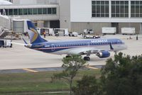N165HQ @ MCO - Republic E190 in Midwest colors