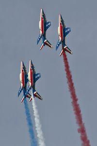 E46 @ EBFS - flying display