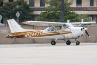 N13447 @ KCMA - Parked near the restaurant - by Nick Taylor