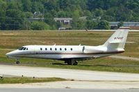 N7402 @ KPDK - Cessna Citation Sovereign [680-0082] Atlanta-Dekalb Peachtree~N  22/04/2010. Taxiing in.