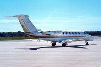 OY-GGG @ EKAH - GGG   Cessna Citation VII [650-7039] Aarhus~OY 08/06/2000. Seen in earlier scheme.
