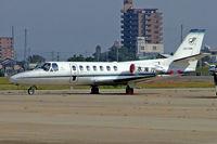 JA119N @ RJNA - Cessna Citation V [560-0067] Nagoya-Komaki~JA 04/11/2005. Parked here at Nagoya-Komaki~JA.