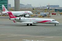 B-KBB @ VHHH - Canadair CRJ-700 [10052] (CR Airways) Hong Kong Int~B 31/10/2005. Seen here. - by Ray Barber