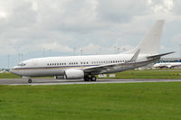 A6-RJX @ EIDW - ROYAL JET BBJ - Departing off Rwy 28 at EIDW. - by Noel Kearney