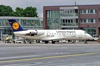 D-ACHK @ EDDG - Canadair CRJ-200LR [7499] (Lufthansa Regional) Munster/Osnabruck~D 25/05/2006. Being readied for departure. - by Ray Barber