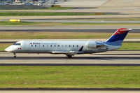 N682BR @ KATL - Canadair CRJ-200ER [7691] (Delta Connection) Atlanta~N 11/04/2010. Seen here.