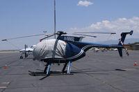 N499SL @ SAF - On the ramp in Santa Fe, New Mexico.