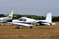 G-AYXS @ EGLD - Seen here. - by Ray Barber