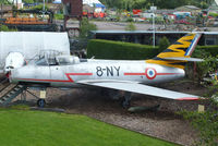 318 @ X6DF - preserved at the Dumfries & Galloway Aviation Museum - by Chris Hall
