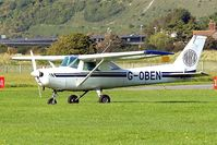 G-OBEN @ EGKA - Seen here at its home base of Shoreham~G. - by Ray Barber