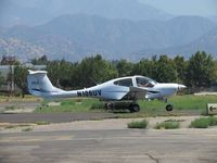 N106UV @ POC - Taxiing to 26L - by Helicopterfriend