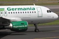 D-ASTA @ EDDL - Germania, Airbus A319-112, CN: 4663 - by Air-Micha
