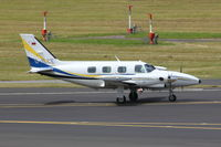 D-ILCE @ EDDL - DSF Flugdienst, Piper PA-31T1 Cheyenne I, CN: 31T-8004053 - by Air-Micha