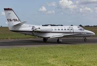 CS-DHJ @ EGSH - Departing SaxonAir. - by Matt Varley